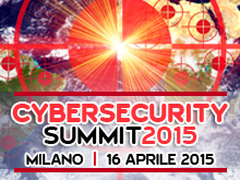 Cybersecurity Summit – 16 Aprile 2015, Milano