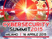 Cybersecurity Summit – 16 Aprile 2015, Milano