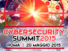 Cybersecurity Summit – 20 Maggio 2015, Roma
