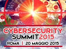 Cybersecurity Summit – 20 Maggio 2015, Roma