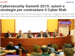 Focus su Smart Defence al Cybersecurity Summit edizione di Roma