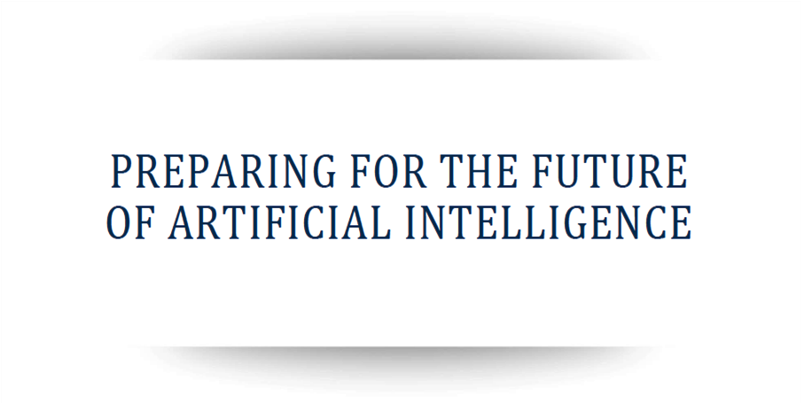 Preparing for the Future of Artificial Intelligence