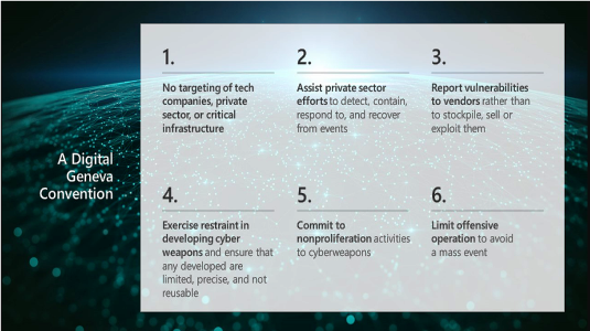 Contro la cyber war, una Convenzione di Ginevra Digitale