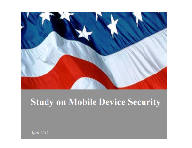 Mobile security: nuovo studio del DHS USA