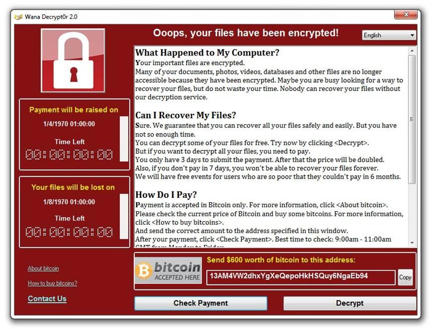 WannaCry: cosa ci insegna la diffusione pandemica del cryptoworm