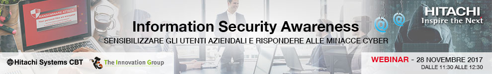 WEBINAR SECURITY AWARENESS