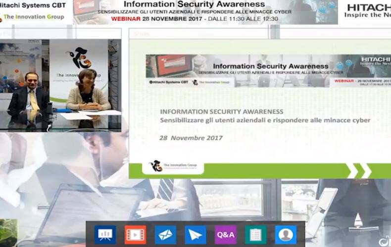 Information Security Awareness: istruzioni per l'uso