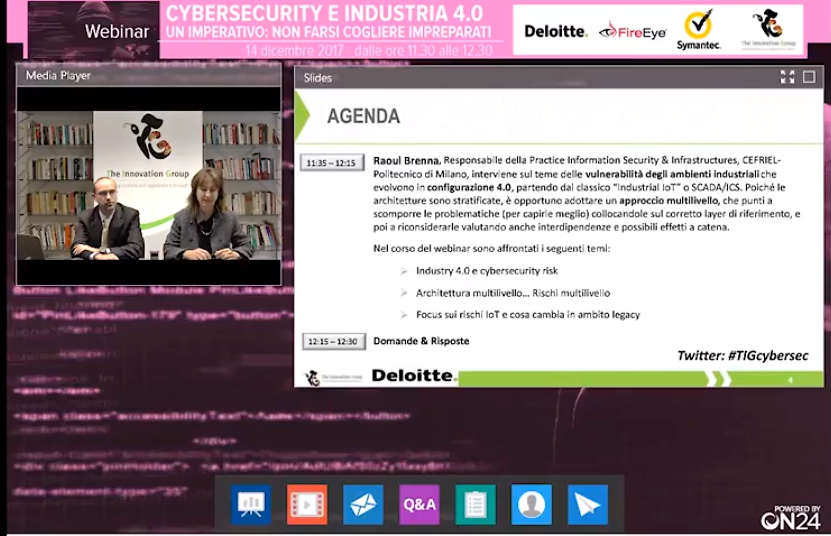 Cybersecurity industria