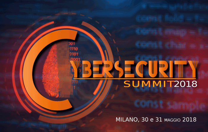 Cybersecurity Summit 2018