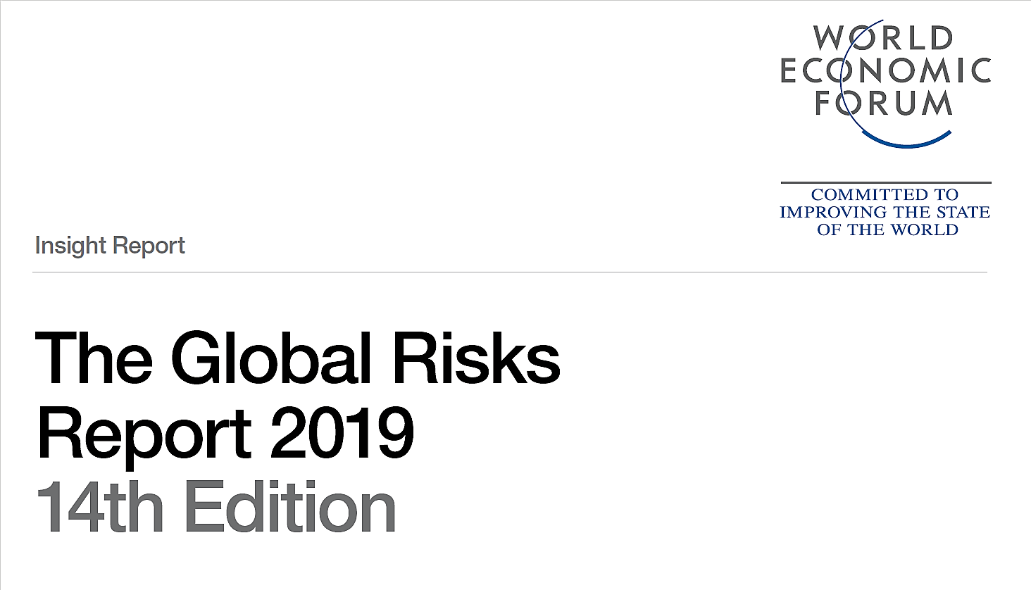 Global Risks Report 2019: cresce la dipendenza globale dal Digitale
