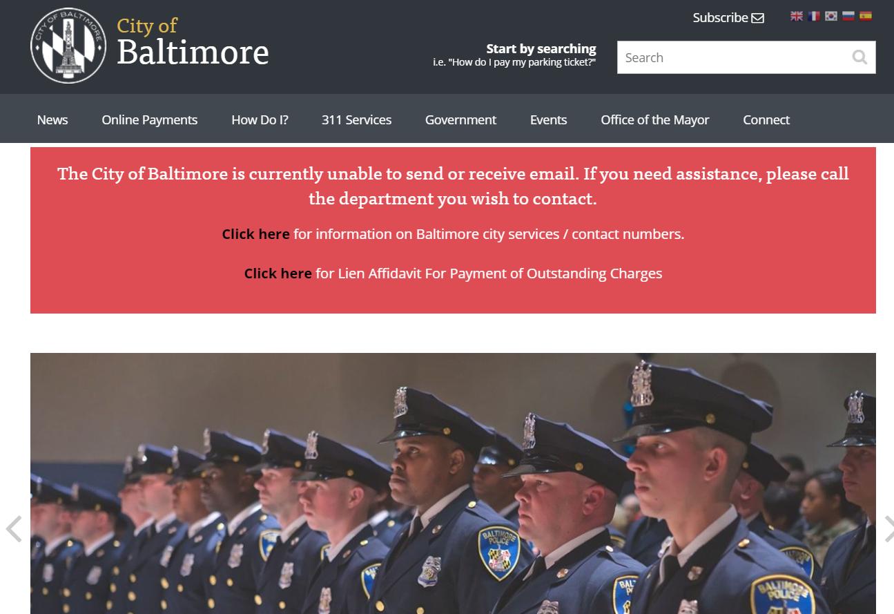 Attacco ransomware alla città di Baltimora