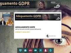 Webinar online, ispezioni sui dati personali