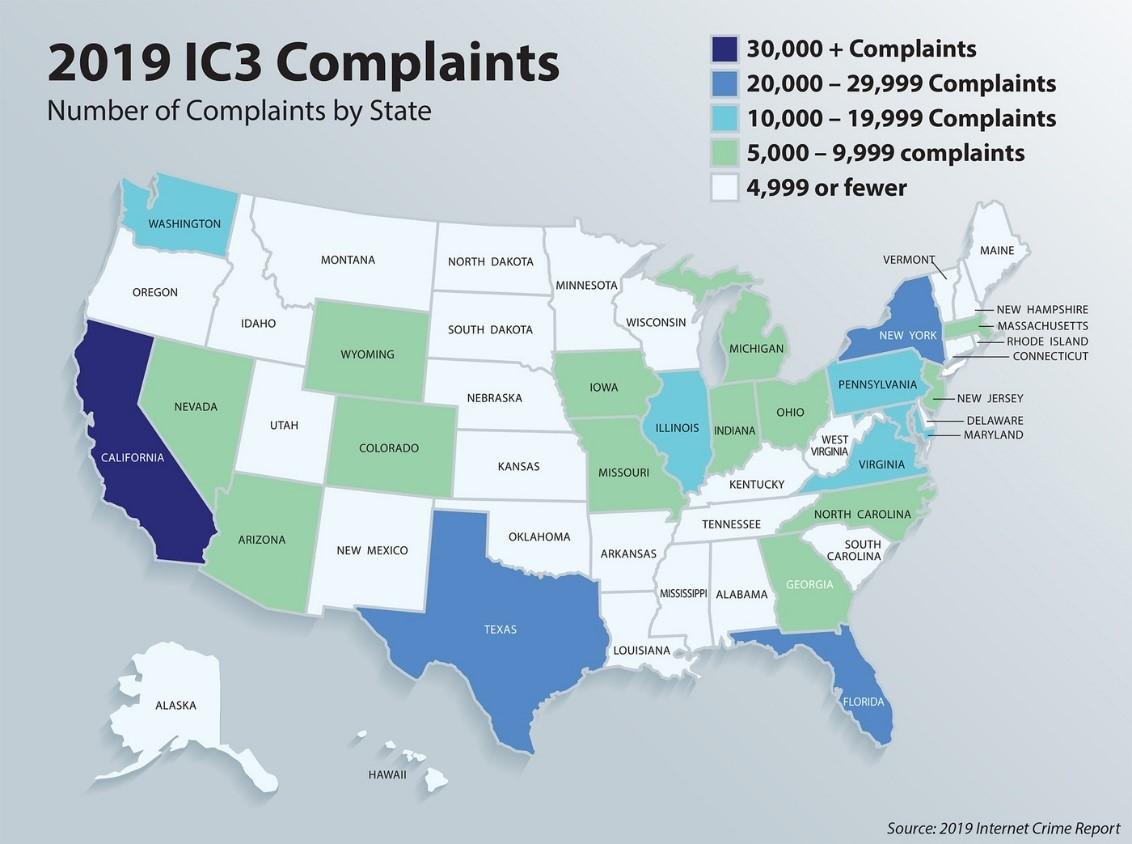 FBI IC3: 1,7 miliardi di dollari di perdite per la BEC