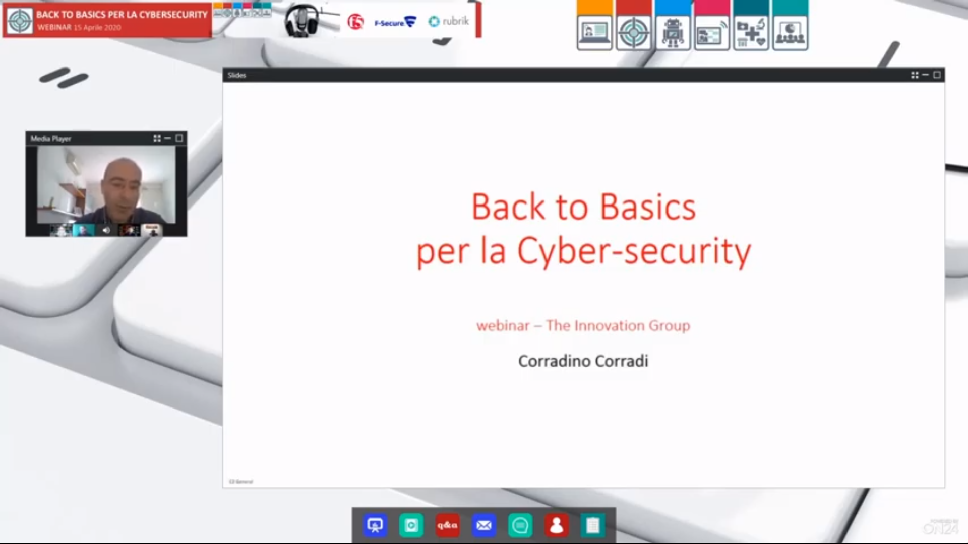 Webinar online: Back to Basics per la cybersecurity