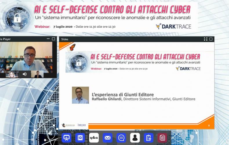 Online il Webinar sull'AI per la Cybersecurity