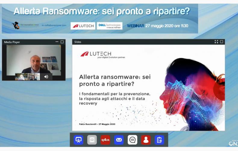 Allerta Ransomware: come ripartire?