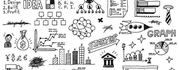 startup innovativa cartoon