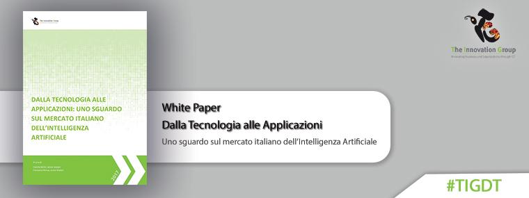 TIG White Paper – Uno sguardo sul mercato italiano dell'AI
